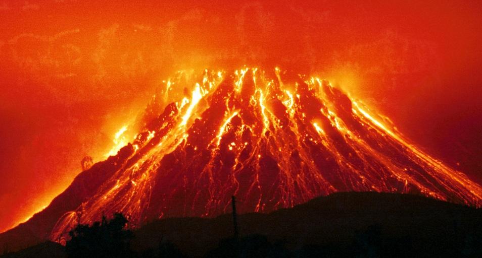 Вулкан Йеллоустоун США