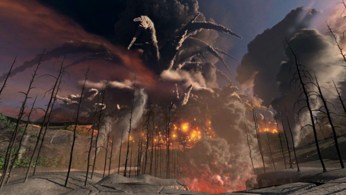 Извержение вулкана этна видео скачать