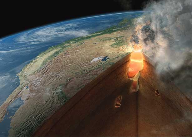 Геологияприродаземля, йеллоустоун, вулкан, сша, факты