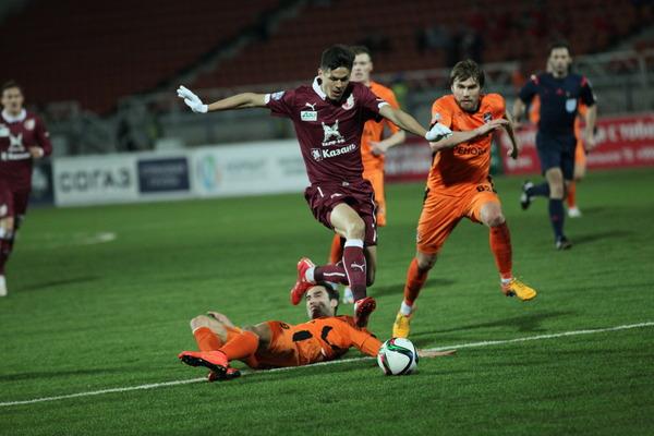 «Рубин» сыграет судьбоносный матч с«Уралом»